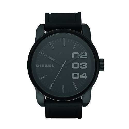Diesel Herren Analog Quarz Smart Watch Armbanduhr mit Silikon Armband DZ1446