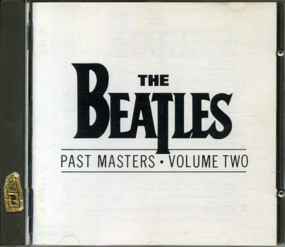 The Beatles - Past Masters - volume two - CDP 7900442 - Stereo/Mono - 1992