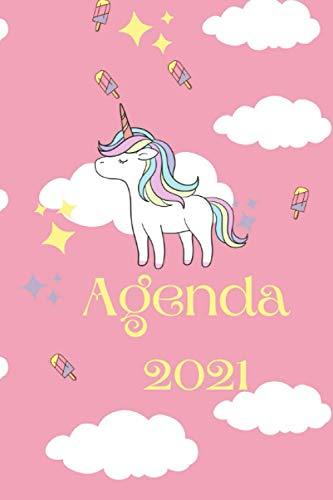 Agenda 2021: Unicorni Rosa (Ufficio e Agende)