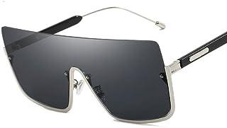 Powzz ornament - Gafas de sol de gran tamaño para mujer y hombre, gafas de sol cuadradas Vintage para hombre, monturas pequeñas de lujo, anteojos Retro, gafas-1_China