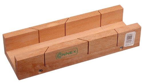 Connex COX822300 Schneidlade 300 x 65 x 37 mm, Buchenholz