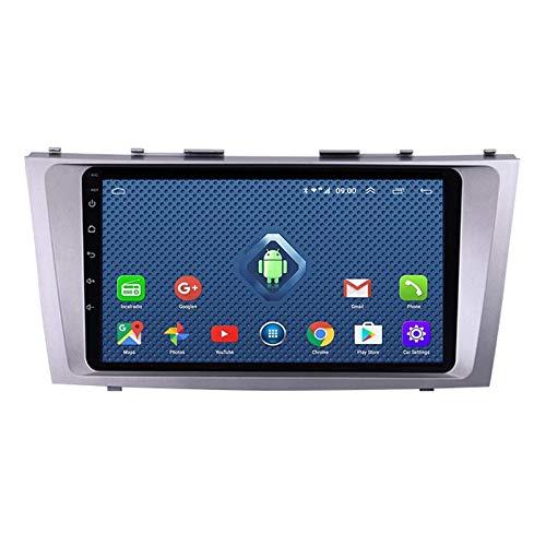 MGYQ Doble DIN Pantalla Tactil Car Stereo Reproductor Multimedia, para Toyota Camry 2006-2011 con Cámara De Visión Trasera, Soporte BT/SWC/FM/Am/USB/AUX IN/Mirror Link,Octa Core,4G WiFi 4+64