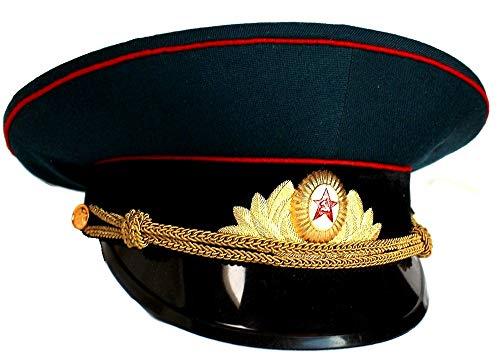 Soviet/USSR Army Military Parade Hat/Cap ORIGINAL Armor Officer+ Soviet Cap Badge, Size 58