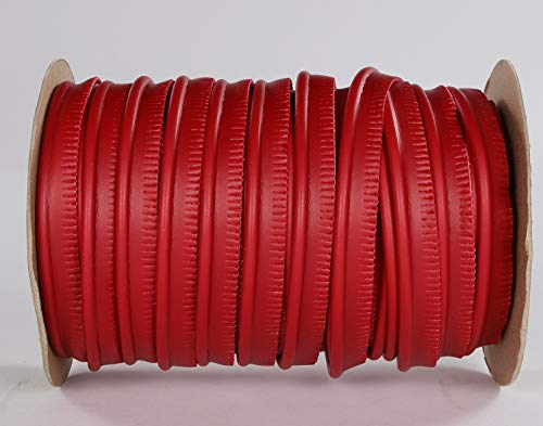 Top Quality Welt Piping - Marine Vinyl Fabric Upholstery - Red - by The Yard #CFAS