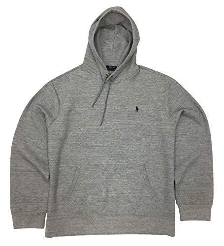 Polo Ralph Lauren Herren Pullover Double Knit Hoodie - Grau - XX-Large