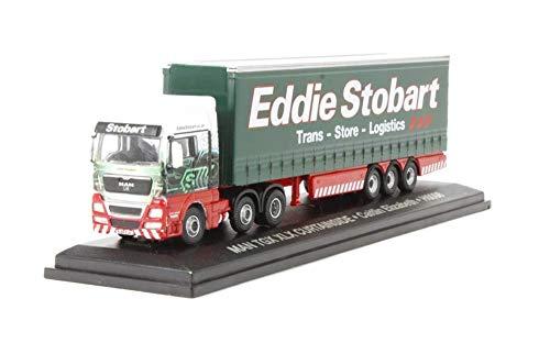 Oxford Diecast STOB040 Eddie Stobart MAN TGX XLX Curtainside