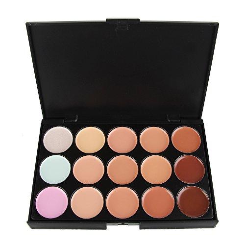 Beauty7 Correcteur 15 couleurs Palette Crème de Camouflage Concealer Cosmétique Visage Masquillage