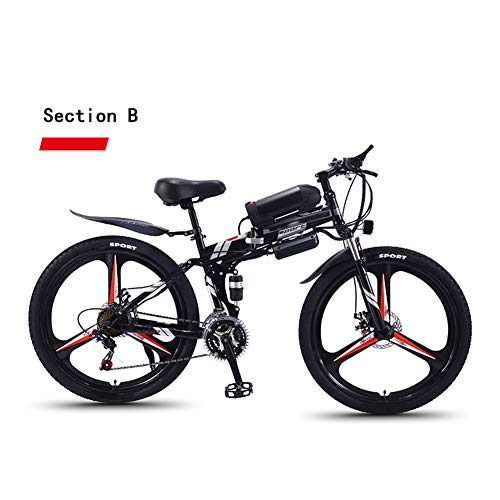 Review Of Adult Travel Electric Bicycle, 350W Motor 36V Hidden Removable Battery 26 Inch Mountain Fo...