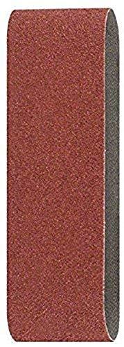 Bosch 2 609 256 192 - Juego de hojas de lija de 3 piezas para lijadora de banda, calidad roja (pack de 3)