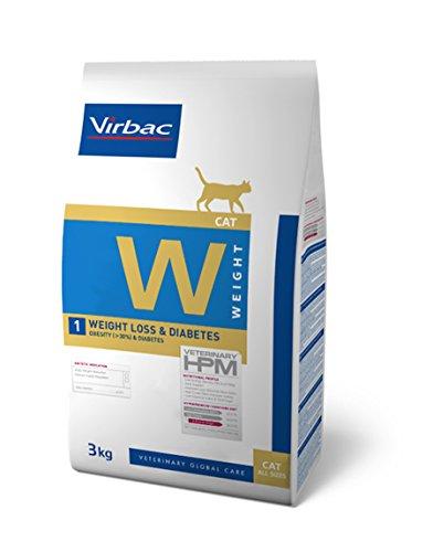 Veterinary Hpm Virbac Hpm Gato W1 Weight Loss&Diabetes 3Kg Virbac 00937 3000 g