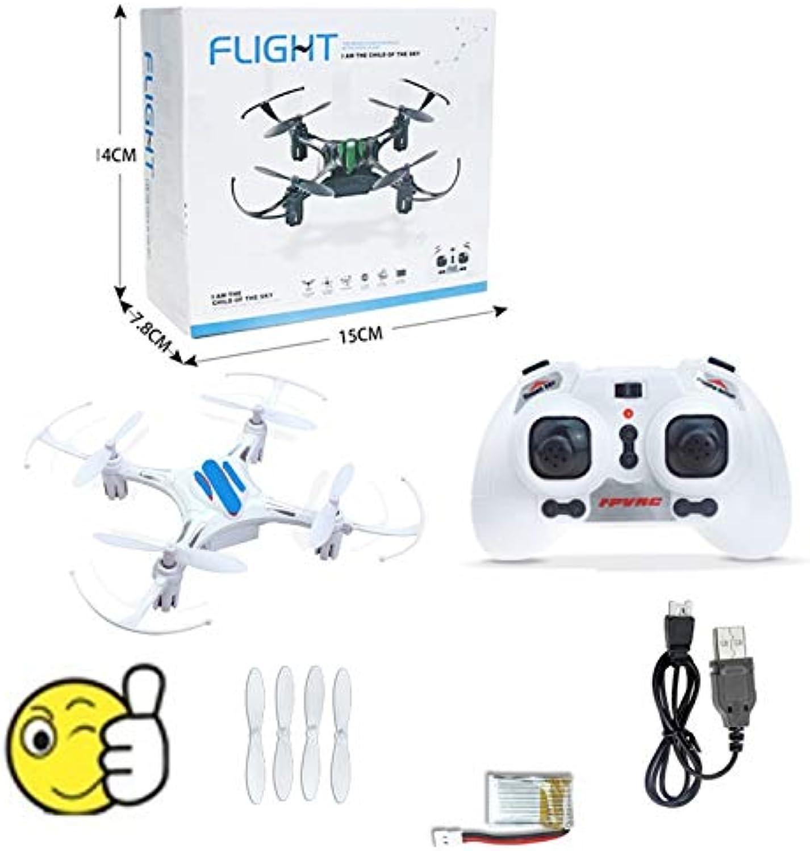 Generic Mini Drone H8 Mini Drones Headless Mode 6Axis Gyro 2.4GHz 4CH Drone rc Helicopter dron Quadcopter VS E010 F36 H20 H36 fq777 E011 White 1 Battery