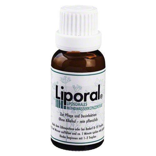 LIPORAL Mundwasser 20 ml Mundwasser by LIPORAL