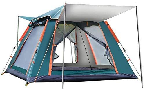Nologo Wandern Camping-Zelt, Zelt Wasserdichtes Familienzelt Picknick Reise-Camping-Zelt im Freien Wasserdichten windundurchlässigen Zelt anybz