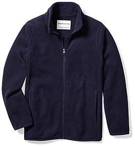 Amazon Essentials Fleece-Outerwear-Jackets, Noche de la Marina, Large