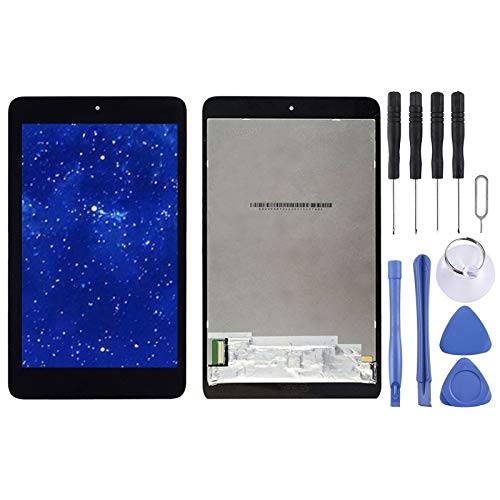 MINGXIAN LCD Screen and Digitizer Full Assembly for Acer iconia one 7 b1-750 (Black) (Color : Black)