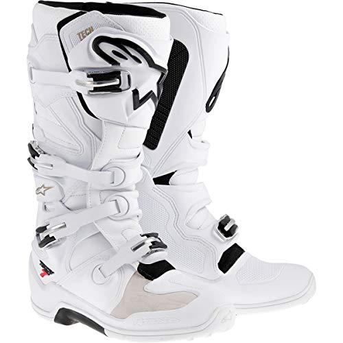 alpinestars Motorcycle 2017 Tech 7 MX Boots White Black US 10