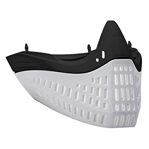 Empire E-Flex Faceplate - Black Nose/ White Skirt
