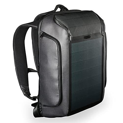 Gjj*dfgh Banca di Alimentazione del Caricatore Solare, Borsa Flessibile della Borsa da Viaggio della Borsa Multi-Funzione della Borsa del Backpack Multi-Funzione del Backpack Multi-Funzione.