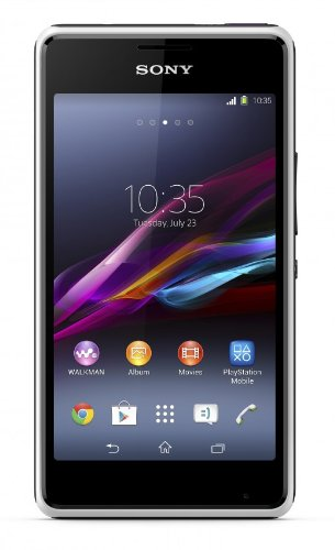Sony Xperia E1 Smartphone (10,2 cm (4 Zoll) TFT-Display, 1,2GHz, Dual-Core, 3 Megapixel Kamera, Android 4.3) weiß