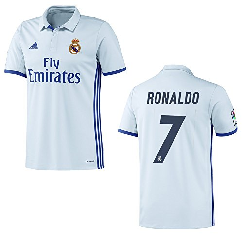 adidas REAL MADRID Trikot Home Kinder 2016 / 2017 - RONALDO 7, Größe:164