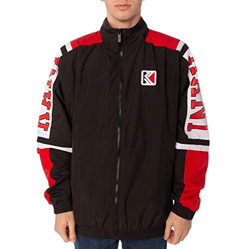 Karl Kani Jacke College Trackjacket Größe: XS Farbe: Black/red/White