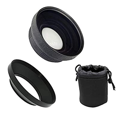 Canon VIXIA HF G50 HD (High Grade) Ultra Wide Angle Conversion Lens (Low Profile) by Digital Nc