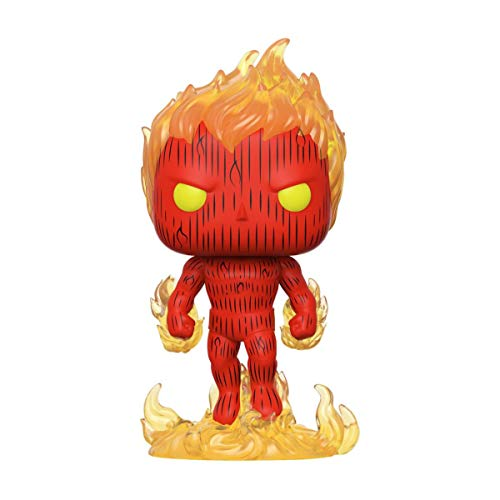 Funko- Pop Marvel: Fantastic Four-Human Torch Collectible