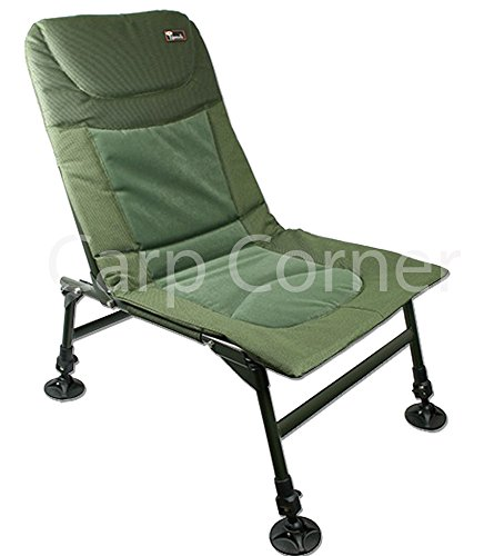 NGT Coarse & Carp Fishing Light Weight Chair With Adjustable Legs + Muddy Feet