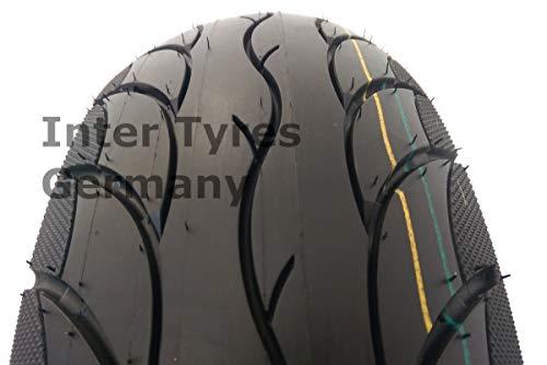 120/70-12 S1301 NaRubb Rollerreifen 51L 4PR TL NEU Moped Scooter Reifen
