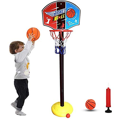 GTYMFH Baloncesto de Baloncesto Baloncesto for niños, Aro de Baloncesto Interior y al Aire Libre Juegos Familiares
