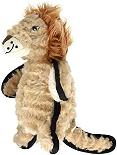 Happy Tails Lion Durables Dog Toy [並行輸入品]