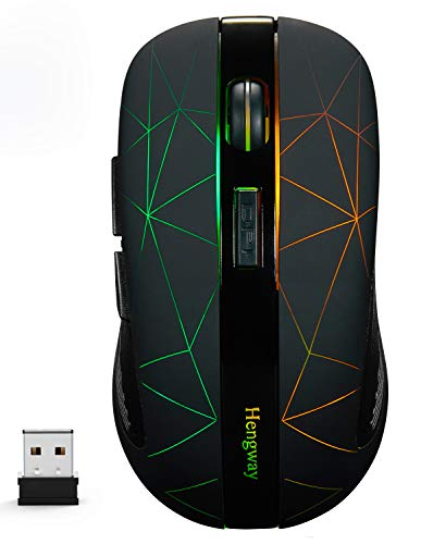 Rechargeable Wireless Mouse with 6 …