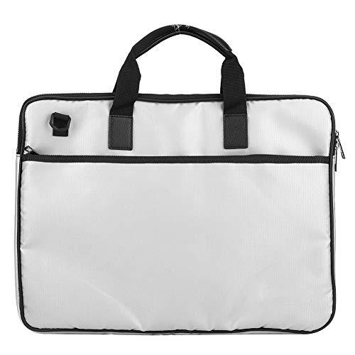 Atyhao Vuurvaste tas, vuurvaste documentenopbergtas, met verstelbare schouderriemen, enveloppe, beschermhoes voor portefeuilles, paspoorten, waardevolle voorwerpen