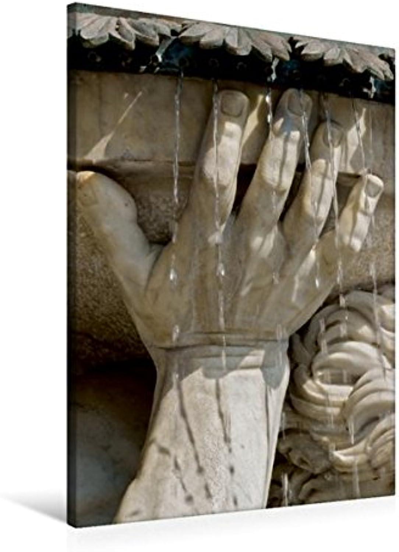 Calvendo Premium Textil-Leinwand 60 cm x 90 cm hoch, EIN Motiv aus dem KalenderDie schnsten Monumentalbrunnen in Wien   Wandbild, Bild auf Keilrahmen. Albrechtsbrunnen Orte Orte