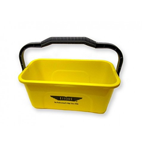 Ettore 86000 Compact Super Bucket with Ergonomic Handle, 3 Gallon (Limited Edition)