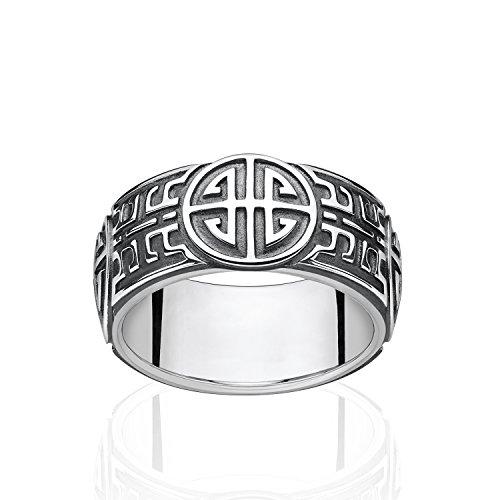 THOMAS SABO Unisex Ring Ethno 925Er Sterlingsilber, Geschwärzt TR2150-637-21