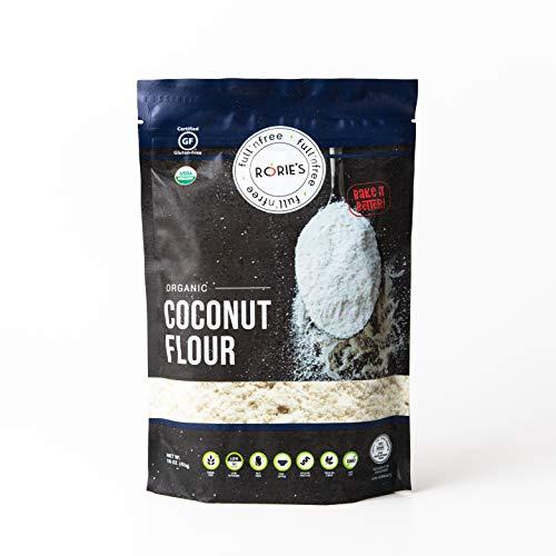 Rorie's Organic Coconut Flour Gluten Free NON GMO KOSHER FOR PASSOVER (16oz)
