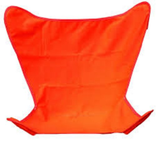 """35"""" Orange Duck Cotton Replacement Cover for Retro Butterfly Outdoor Patio Chair"""