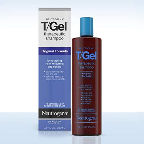 Neutrogena T/Gel Therapeutic Shampoo Original Formula, Anti-Dandruff Treatment for Long-Lasting...