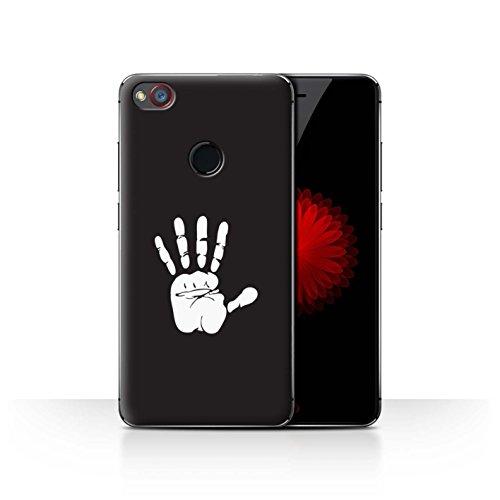 Hülle Für ZTE Nubia Z11 Mini LOTR Fantasie Inspiriert Weiße Hand Isengard Design Transparent Ultra Dünn Klar Hart Schutz Handyhülle Case