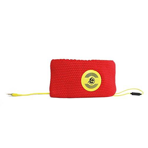 Earebel powered by Sport Warm Up 'Janjac' muts hoofdtelefoon unisize geel