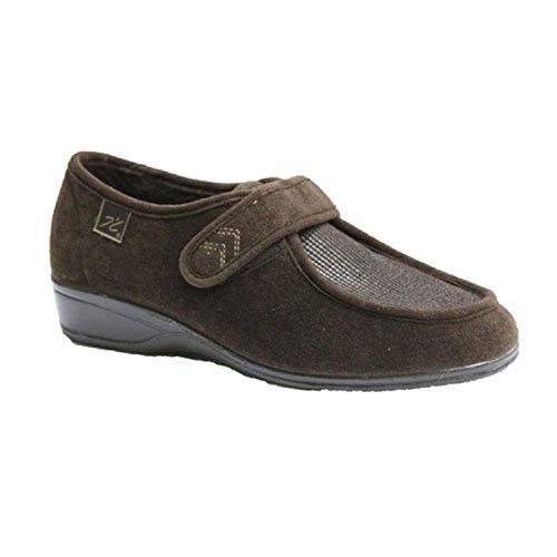 Zapatillas Velcro pies Muy delicados Doctor Cutillas en Negro