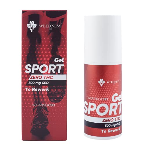 WEEDNESS CBD Gel Sport Efecto Calor | Gel deportivo con CBD para masajes musculares con efecto calor.