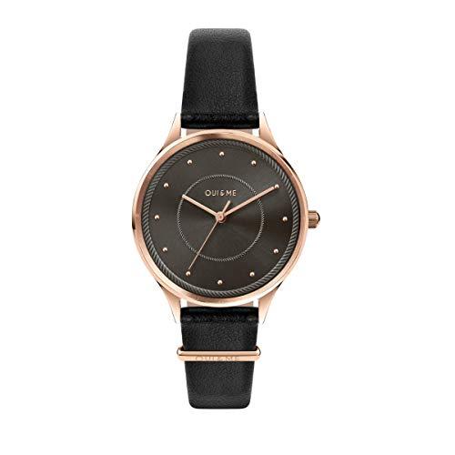 Oui & Me Reloj Analógico para Mujer de Cuarzo con Correa en Cuero ME010235