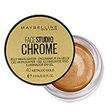 Maybelline Face Studio Chrome Iluminador en Gel - 40 Metallic Gold