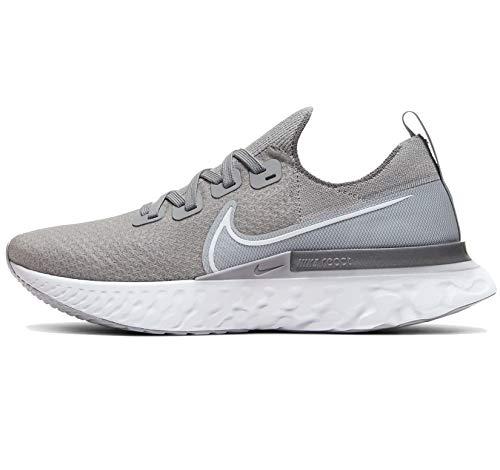 Nike React Infinity Run FK Wolf Grey/White/Cool Grey 10.5