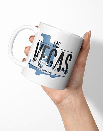 BLAK TEE Las Vegas USA Skyline Porcelain Coffee And Tea Mug 330 ml