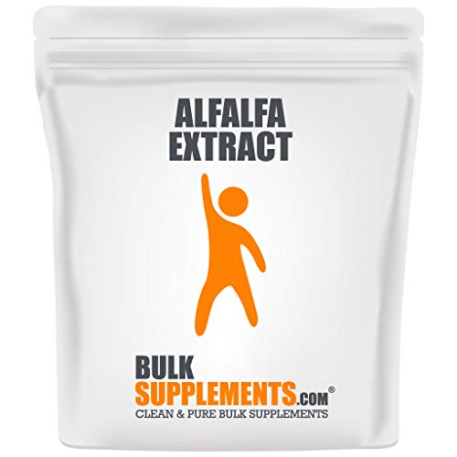 Bulksupplements Alfalfa Extract Powder (100 Grams) 83 Servings