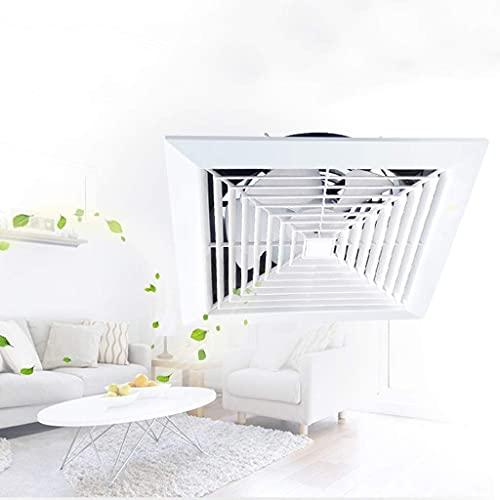 Extractor De Aire, Extractor Cocina Ventilador de extractor de baño, ventilador de extractor de cocina Ventilador de ventilación para el hogar Ventilador de techo de 12 pulgadas, Tipo de techo de baño