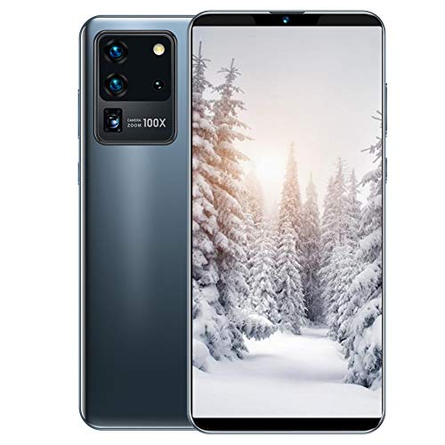 """Smartphone Unlocked, S21U 6.1"""" Full Screen Smartphone, 1+8G Dual SIM Cards Cell Phone, 5-Point Touching Screen, MTK6580P Quad-core Smartphone for Android 10.0,with 128G Memory Card(Gray)"""